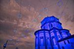 La chiesa in blu